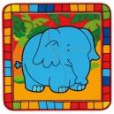 puzzle na desce-slon